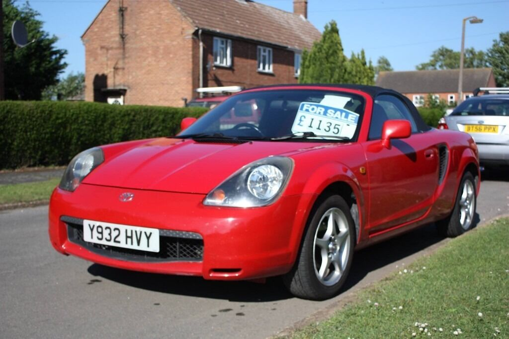 toyota mr2 roadster 2001 in wisbech cambridgeshire. Black Bedroom Furniture Sets. Home Design Ideas