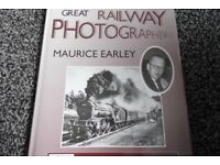 GREAT RAILWAYS PHOTOGRAPHERS BOOK