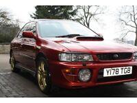 Subara Impreza Turbo 2000 Classic Model Mica Metallic Red 270bhp 0-60 4.9s