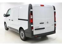 Vauxhall Vivaro L1H1 2700 CDTI (white) 2018-01-31