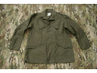 Vintage (like new) Dutch Army M53 Field Jacket in Size Large