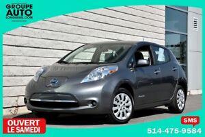 2015 Nissan Leaf *AUTOM*A/C*CAMERA*RECHARGE RAPIDE*EN INVENTAIRE