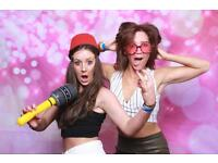Party Photobooth For Hire from £140 with unlimited prints.