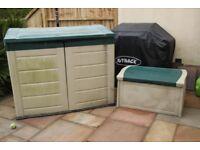 Garden Storage In Durable and Weather Resistant Design.