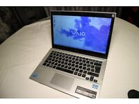 Sony Vaio SVT131A11M (Intel Core i7 with 435GB) - Excellent Conditions