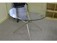 Iconic classic GLASS TABLE from The Chair Company