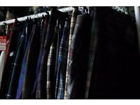 KINLOCH ANDERSON Assorted Women's Skirts, Kilts, Shirts, and Trousers (never worn)