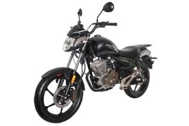 NEW ZONTES MANTIS 125CC CUSTOM, OWN FOR £7.52 PER WEEK