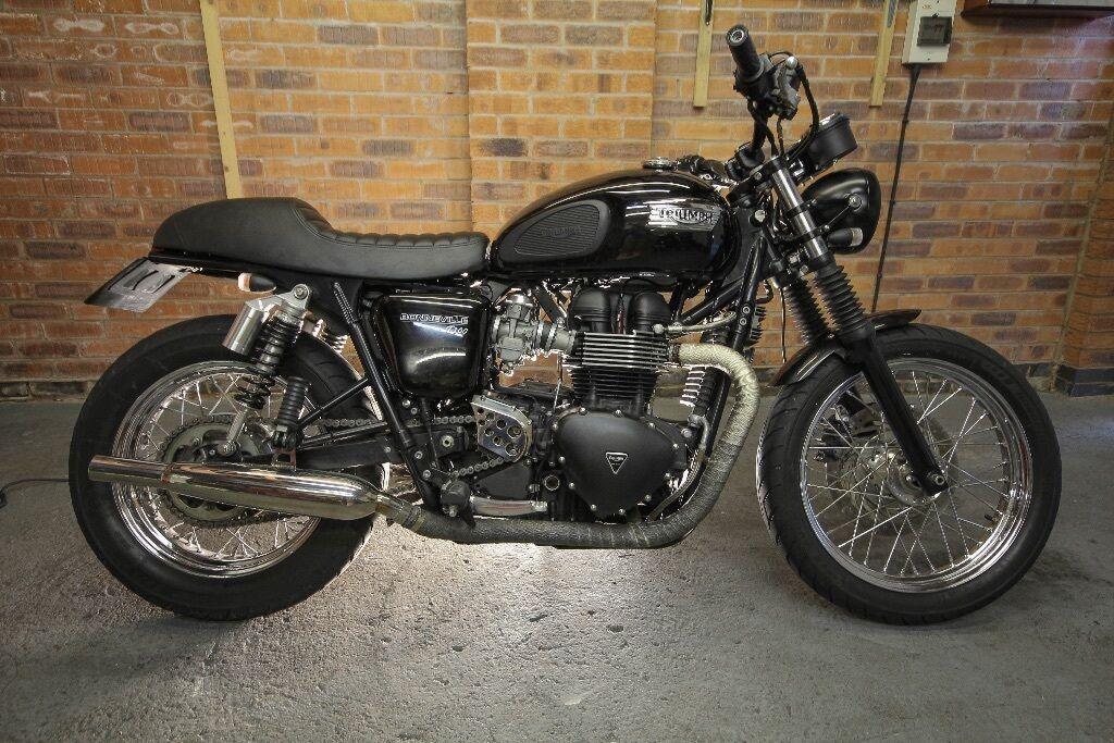 2010 Triumph Bonneville T100 Custom Motorcycle | in ...