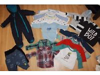Boys bundle 3-6 from pets and smoke free house, previously worn but in excellent condition.