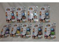 9 x Disney TSUM TSUM collectable MINI packs incl Jack Skellington/Peter Pan/Aladdin/Mad Hatter/Jafar