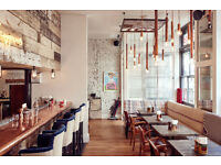 Duty Manager wanted for faced paced restaurant & boutique hotel, 5 mins from London Victoria