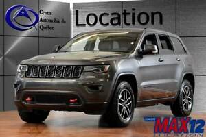 2019 Jeep Grand Cherokee Trailhawk 4X4 CUIR TOIT NAV HITCH LOCAT