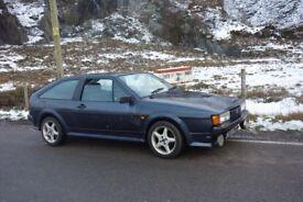 Volkswagen Scirocco GTX 1989 model.