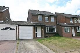 Now let: 4 bed house in Netley Abbey, Soton with garage and garden available for short term let.