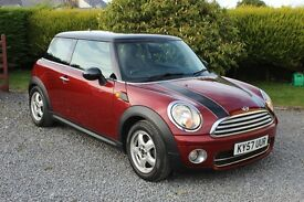 2007 (57) Mini Cooper 1.6TD with Chilli Pack