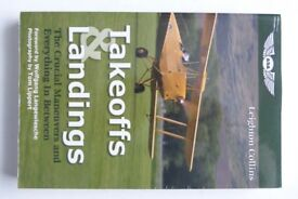 Takeoffs and Landings. Flying – Pilot training. ASA books. Leighton Collins. As new condition.