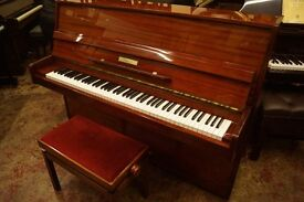 Modern upright piano by Neumann, with matching adjustable stool - UK wide delivery available