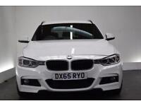 BMW 3 SERIES 2.0 320D M SPORT TOURING [NAV/LEATHER/19 (white) 2015