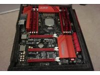 Intel I7 5930K, Asrock x99x Killer Motherboard & Cpu Combo