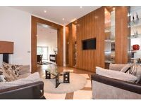 Earls Court Road W8. Exceptional two double bedroom, two bathroom flat to rent