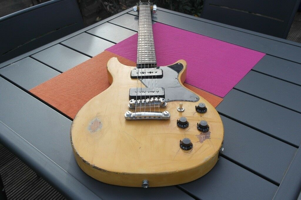 Les Paul Special Guitar With Relic Vintage Feel Tv Yellow Like The