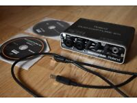 Roland Duo-Capture EX USB audio interface with SONAR LE recording software, excellent condition