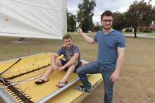 Surf Cat Hobie, yellow Dianella Stirling Area Preview