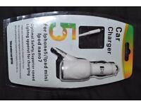 Iphone 5 ipad mini ipod nano7 car charger