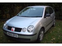 VW Polo 5 door 1.2 MOT to end September in 'Drive Away' condition 90600 miles