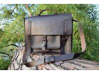 Handmade Leather Business Bag