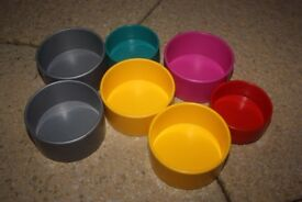 Food & Water Bowls for Hamsters Mice Gerbils Rats & other small animals HARDLY USED (lots available)