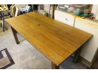 Garden Table made of Honduran Mahogany