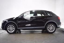 AUDI Q3 2.0 TDI SE 5d 138 BHP (black) 2012