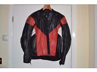 Alpinestars Mens Leather Motorcycle Jacket