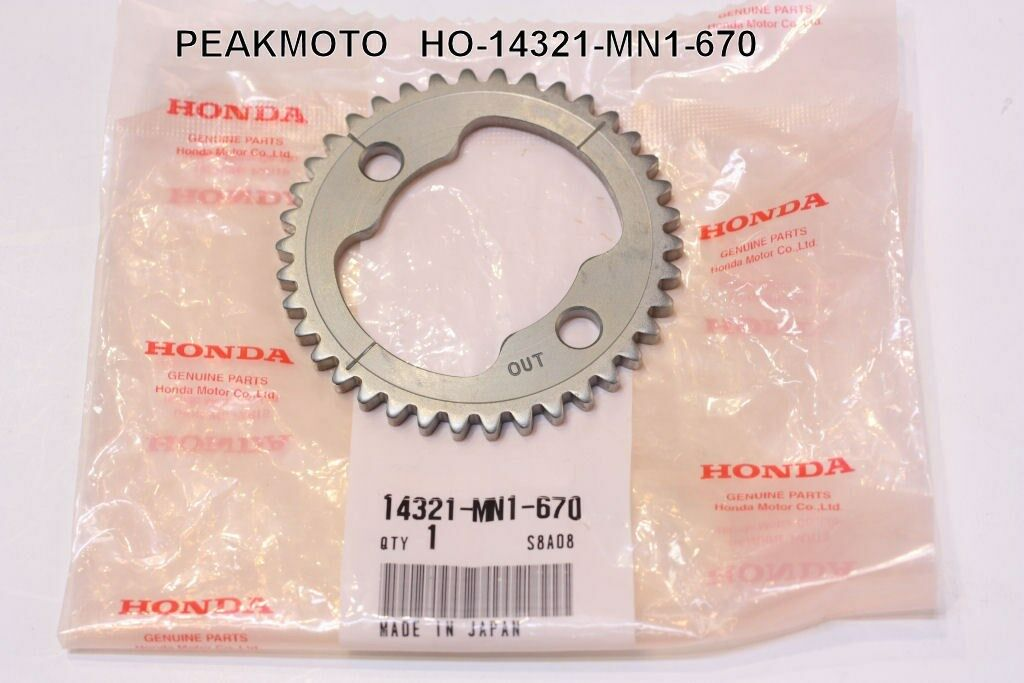 1991 91 Honda 250x 250 X Cam Camshaft Timing Gear