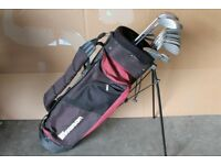 Howson stand bag with set of clubs