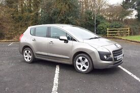 2009 PEUGEOT 3008 SPORT 1.6 HDI GREY Diesel, 36k, lovely car, 6 speed, new car forces sale