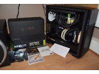 EVGA NVIDIA GTX 980 Ti Hybrid v2 (Beast faster than any 1070)