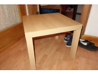 Ikea table (Lack) in good condition