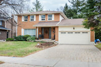 ....4 bed + 3 Bath Modern Detached Home with Double Garage