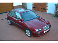 2003 ROVER 25 RED 5 DOOR MANUAL LOW MILES
