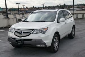 2008 Acura MDX Sporty SUV, Langley Location.