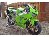 Kawasaki ZX6RR Totally unmolested collectors bike, Low Mileage