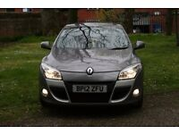Renault megane mk3 2012 gray 46000