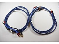 Russ Andrews Multi Core Biwire speaker cables (pair 2.85 m)