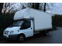 FORD TRANSIT 2008 LUTON VAN WITH TAIL LIFT