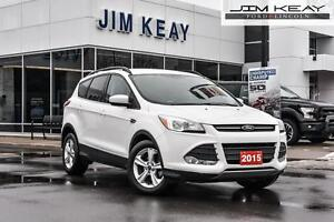 2015 Ford Escape SE FWD W/BLUETOOTH, 1.6L ECOBOOST ENGINE & TRAC
