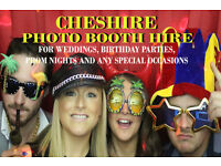 PHOTO BOOTH HIRE - CHESHIRE