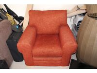 Vogue Terracotta Armchair - Great Condition